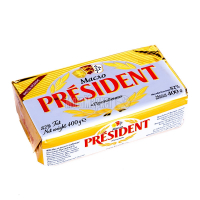 Масло President вершкове екстра 82% 400г х20