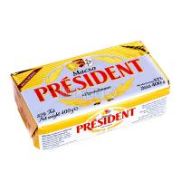 Масло President вершкове 82% 400г