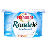 Сир President Rondele творожний 70% 125г х6