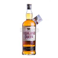 Віскі Highland Queen 40% 1л з бокалом х2