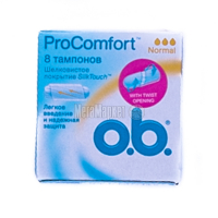 Тампони OB 8 Pro Comfort Normal х6