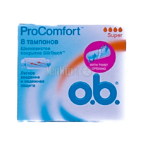 Тампони OB 8 Pro Comfort Super х6