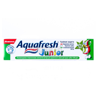 Зубна паста дитяча Aquafresh Junior, 50 мл