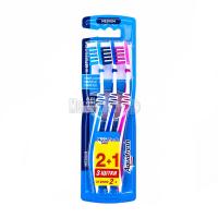 Зубна щітка Aquafresh 2+1шт х6