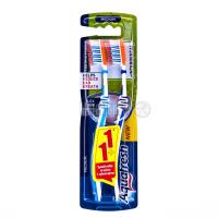 Зубна щітка Aquafresh Tooth & Tongue Medium 2шт x12
