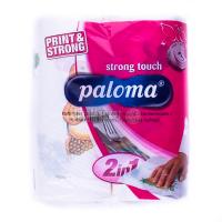 Рушник паперовий рулонний Palomа Strong Touch, 2 шт.
