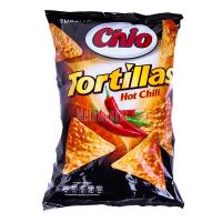 Чіпси Chio Tortillas з гострим перцем 125г х18