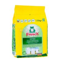 """Пральний порошок концентрований екологічний для білих тканин Frosch """"Цитрус"""", 1,35 кг"""