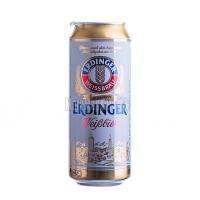 Пиво Erdinger Weibbier світле з/б 0,5л