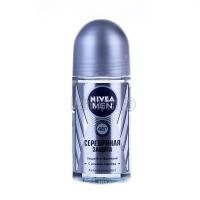 Дезодорант Nivea Silver кулька 50млх6