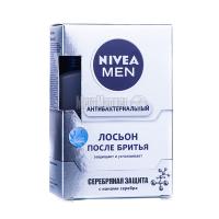 Лосьйон після гоління Nivea Men Антибактеріальний з іонами Срібла, 100 мл