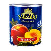 Персик Mikado половинки 850мл