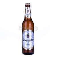 Пиво Krombacher світле с/б 0,5л