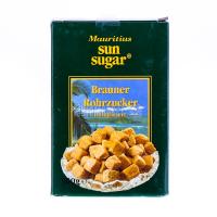 Цукор Mauritius Sun sugar коричневий 500г х10