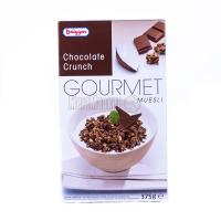 Мюслі Bruggen Гурман шоколад Cruncb 375г х8