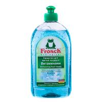 Безфосфатний засіб з вітамінами для миття посуду Frosch, 500 мл