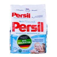 Пральний порошок безфосфатний гіпоалергенний для дитячих речей Persil Sensitive-Megaperls, 1,08 кг