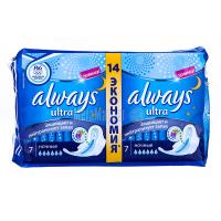 Прокладки Always Ultra Night 2*7штх6