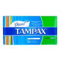 Тампони Tampax Super 16шт х6