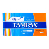 Тампони Tampax Super Plus 16шт х6