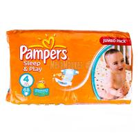 Підгузники Pampers Sleep&Play Maxi 7-18кг 68шт . х6