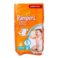 Підгузники Pampers Sleep&Play Junior 11-25кг 58шт х6