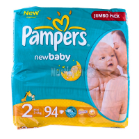 Підгузники Pampers Jumbo Pack Mini 3-6кг 94шт х6