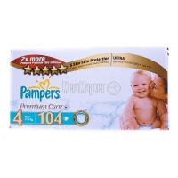 Підгузники Pampers Premium Care Maxi Dry Max 7-18кг 104шт х6