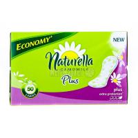 Щоденні гігієнічні прокладки Naturella Plus Extra Protection, 50 шт.