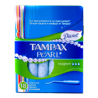 Тампони Tampax Pearl super 18шт х6