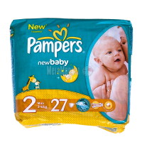 Підгузники Pampers New Baby mini 3-6кг 27шт х6