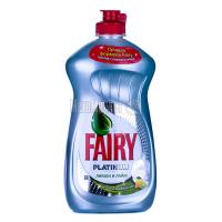"""Рідкий засіб для миття посуду Fairy Platinum """"Лимон та лайм"""", 480 мл"""