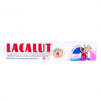 Зубна паста дитяча до 4-х років Lacalut, 50 мл
