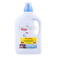 Рідина Klar для прання органічна Мильний горіх 1,5л
