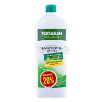 Засіб Sodasan для миття посуду 1л х6