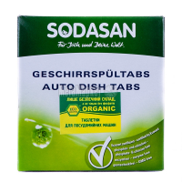 Засіб Sodasan для посудомоечной машини 25шт. 0,5кг