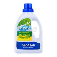 Органічний засіб для прання делікатних тканин та вовни Sodasan, 750 мл