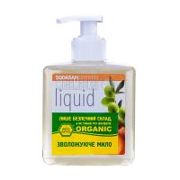 Мило органічне рідке Sodasan Cosmetics Peach & Olive, 300 мл