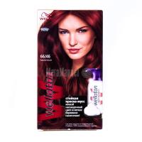 Фарба-мус для волосся Wellaton стійка 66/46 червона вишня
