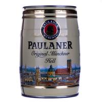 Пиво Paulaner Original Munchner ж/б 5л