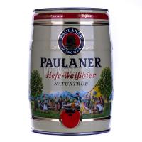 Пиво Paulaner Hefe-Weibbier нефільтроване ж/б 5л