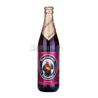 Пиво Franziskaner Weissbier темне c\б 0,5л