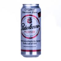 Пиво Padeborner Pilsener з/б 0,5л