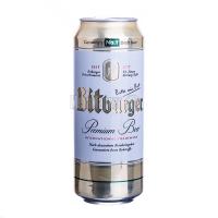 Пиво Bitburger Premium ж/б 0,5л х24