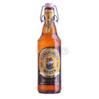 Пиво Flensburger Weizen с/б 0.5л
