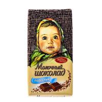 Шоколад Красный Октябрь молочний пористий 95г х14