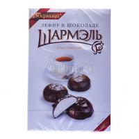 Зефір Ударница Шармель Класичний в шоколаді 250г х16