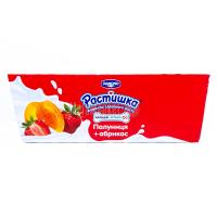 Десерт Danone Растишка Абрикос+полуниця 6*45г х6