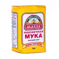 Борошно Макфа пшеничне в/г 1кг х20