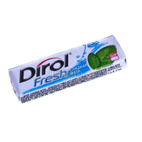 Жув.гумка Dirol fresh солодка м`ята 13,6г х30